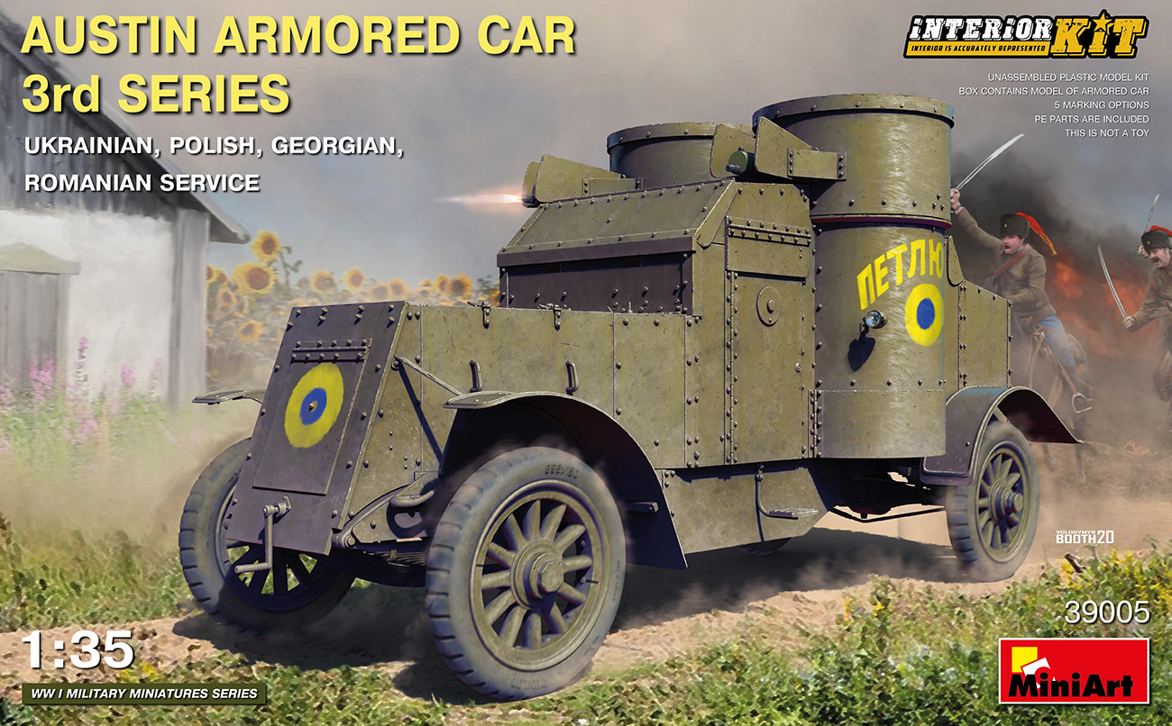 Austin Armoured Car 3rd Series - 1:35