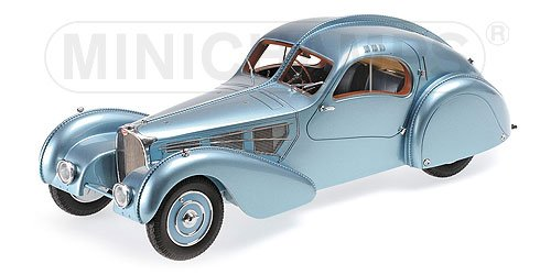 Bugatti Type 57C Atlantic 1936 Blauw Metallic