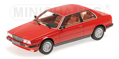 Maserati Biturbo Coupe 1982 Red