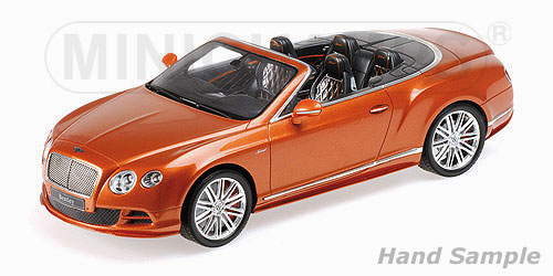 Bentley Continental GT Speed Convertible 2015 Orange