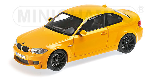 BMW 1M Coupe 2011 Geel