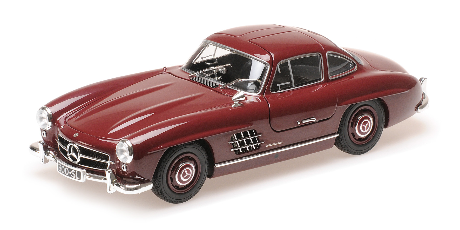 Mercedes-Benz 300 SL (W198) 1955 Donkerrood
