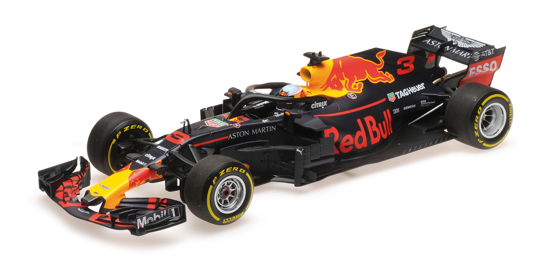 Aston Martin Red Bull Racing TAG-Heuer RB14 2018 D. Ricciardo