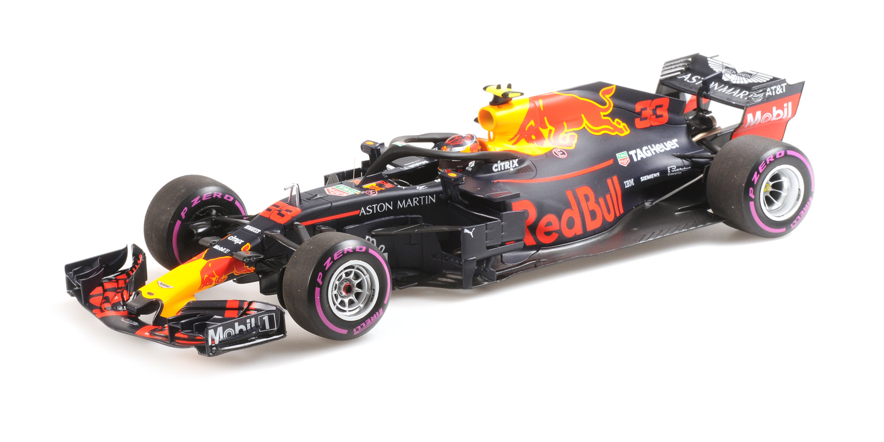 Red Bull RB14 Winner Mexico GP 2018 M. Verstappen