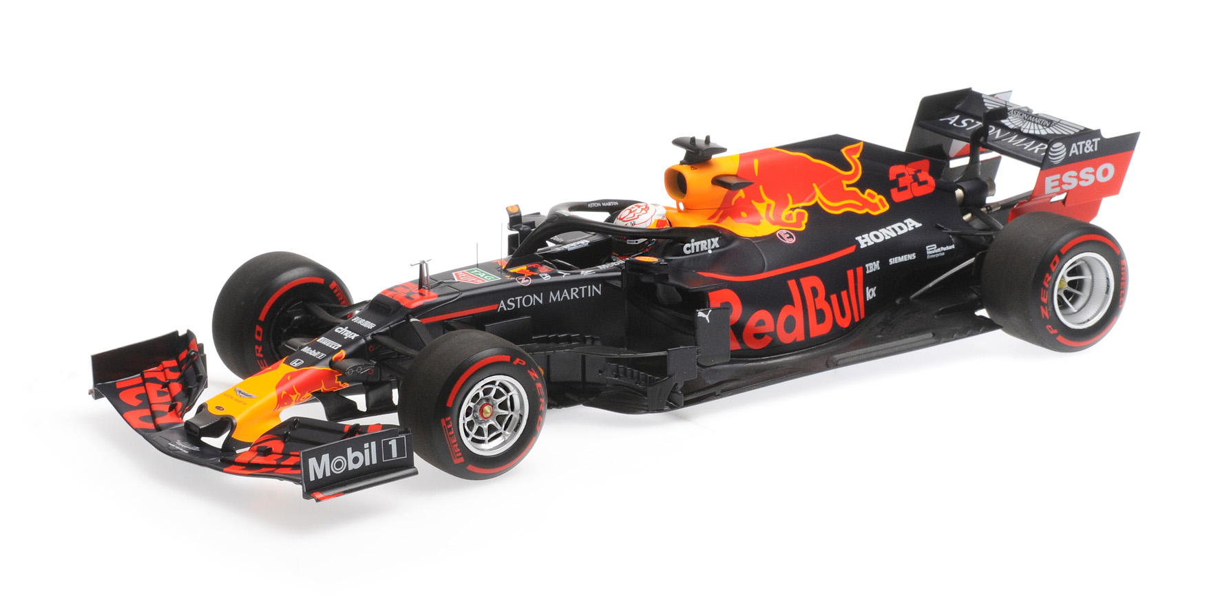 Aston Martin Red Bull Racing Honda RB15 2019 M. Verstappen