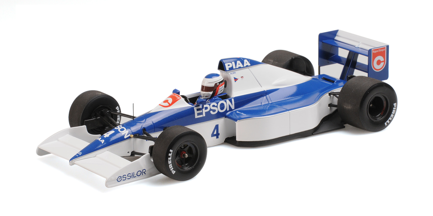 Tyrrell Ford 018 2nd Place GP USA 1990 J. Alesi