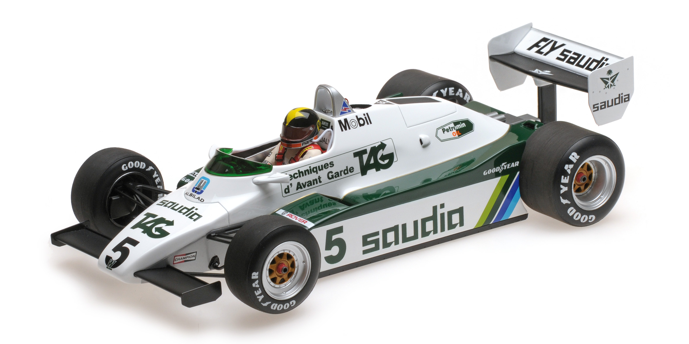 Williams Ford FW08 1982 D. Daly