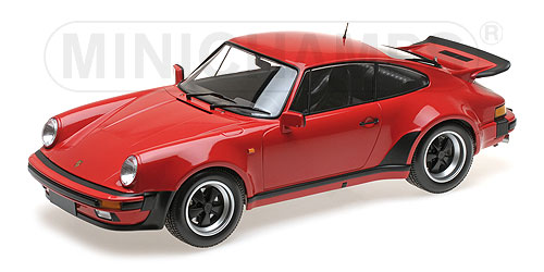 Porsche 911 Turbo 1977 Rood