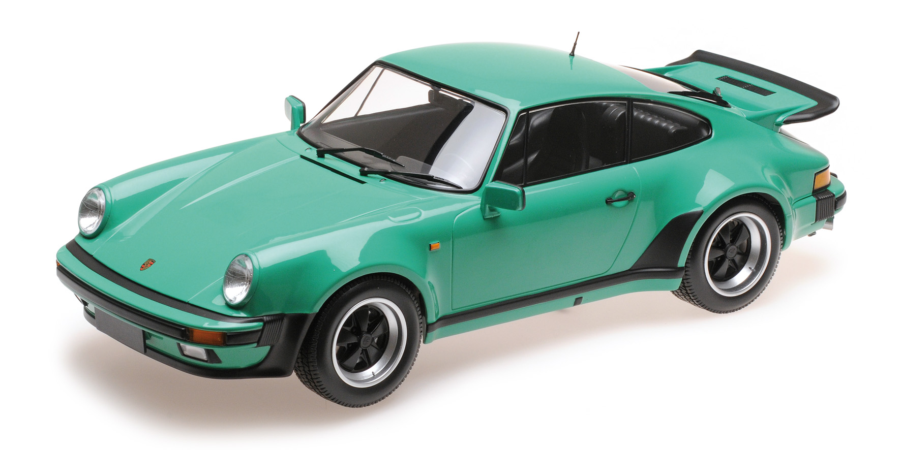 Porsche 911 Turbo 1977 Groen