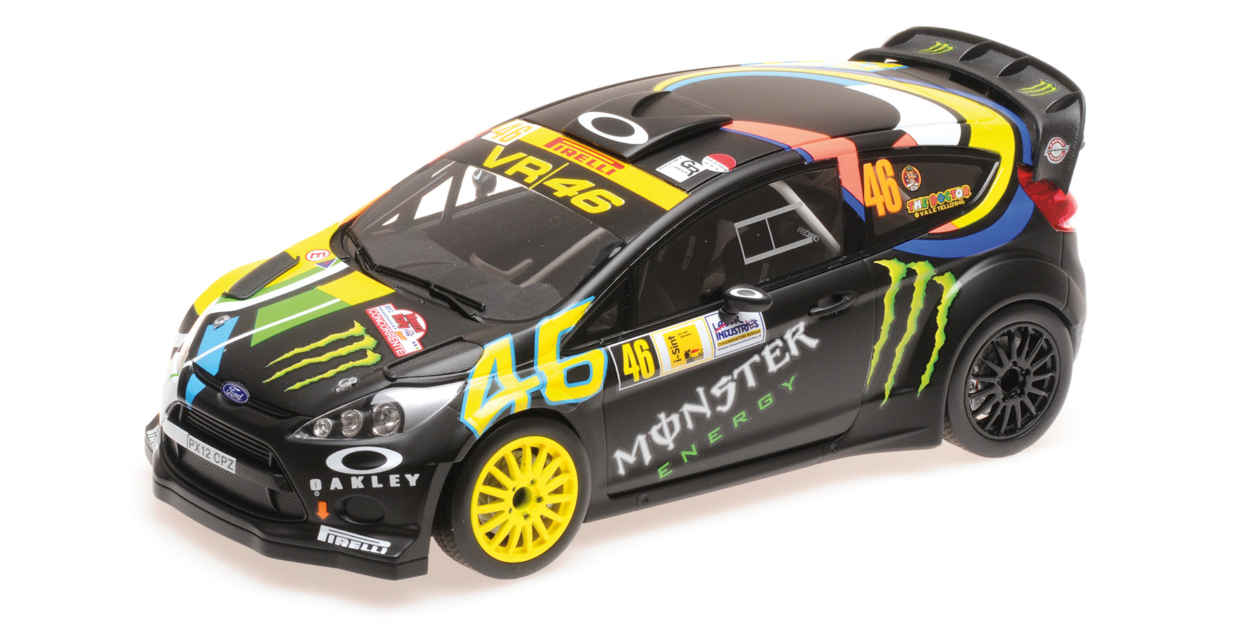Ford Fiesta RS WRC Winners Monza Rally Show 2012 Rossi/Cassina