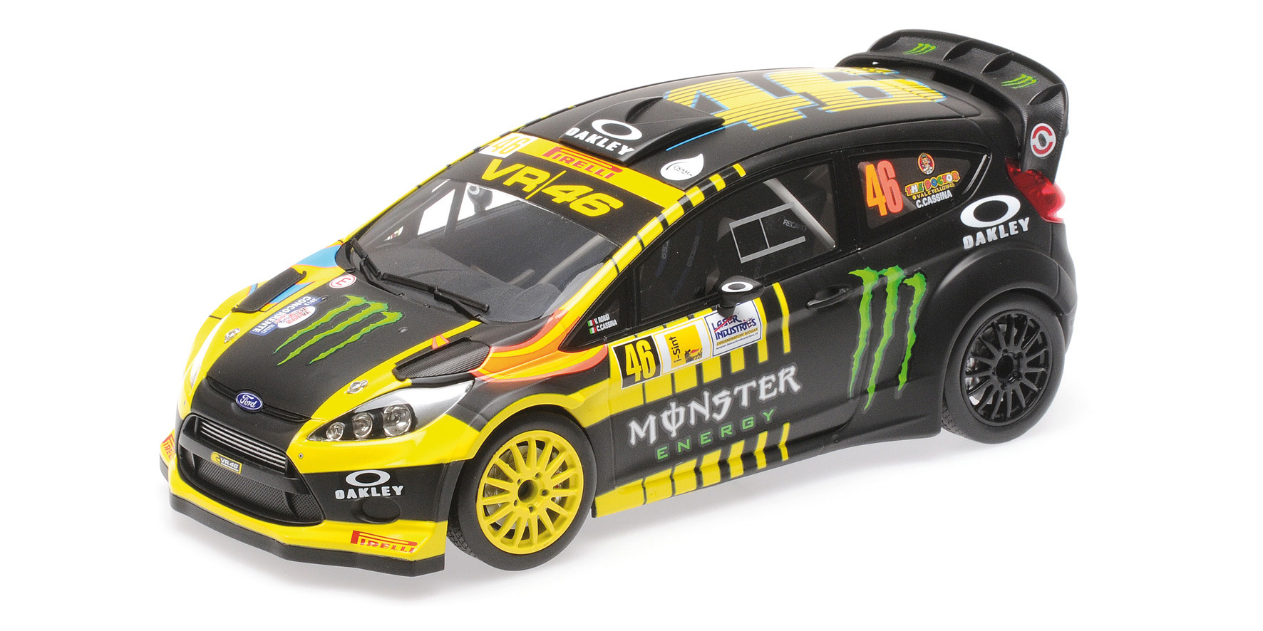 Ford Fiesta RS WRC 2nd Place Monza Rally Show 2013 Rossi/Cassina
