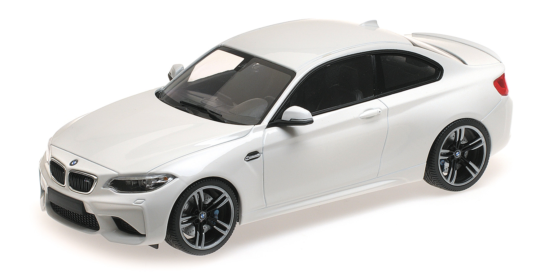 BMW M2 Coupe 2016 Wit