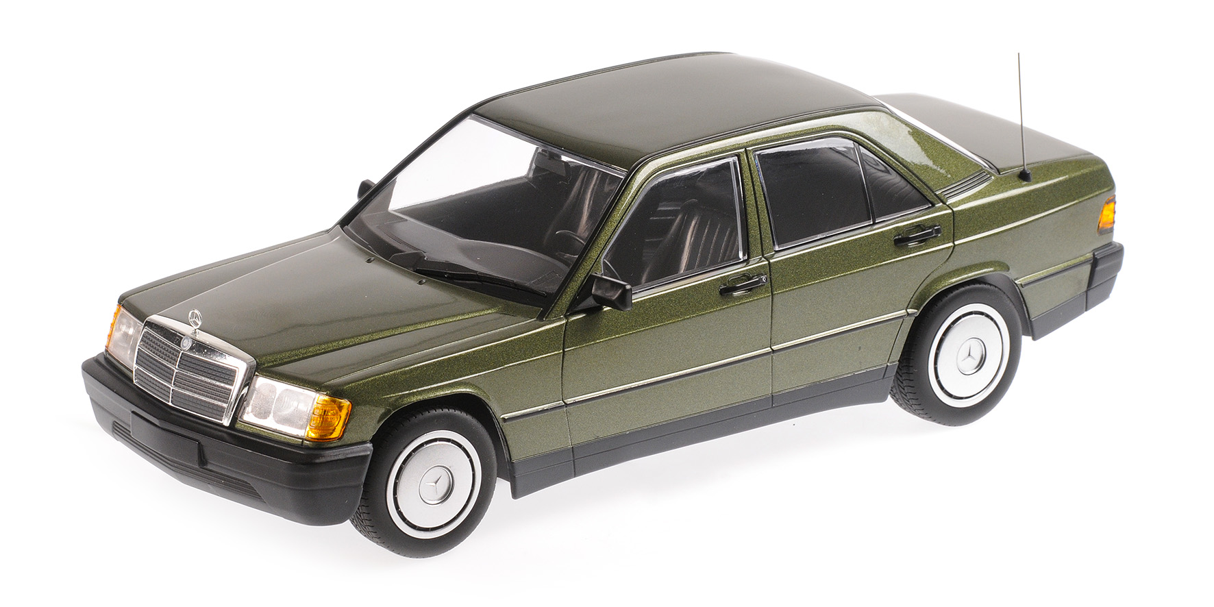 Mercedes-Benz 190E (W201) 1982 Groen Metallic