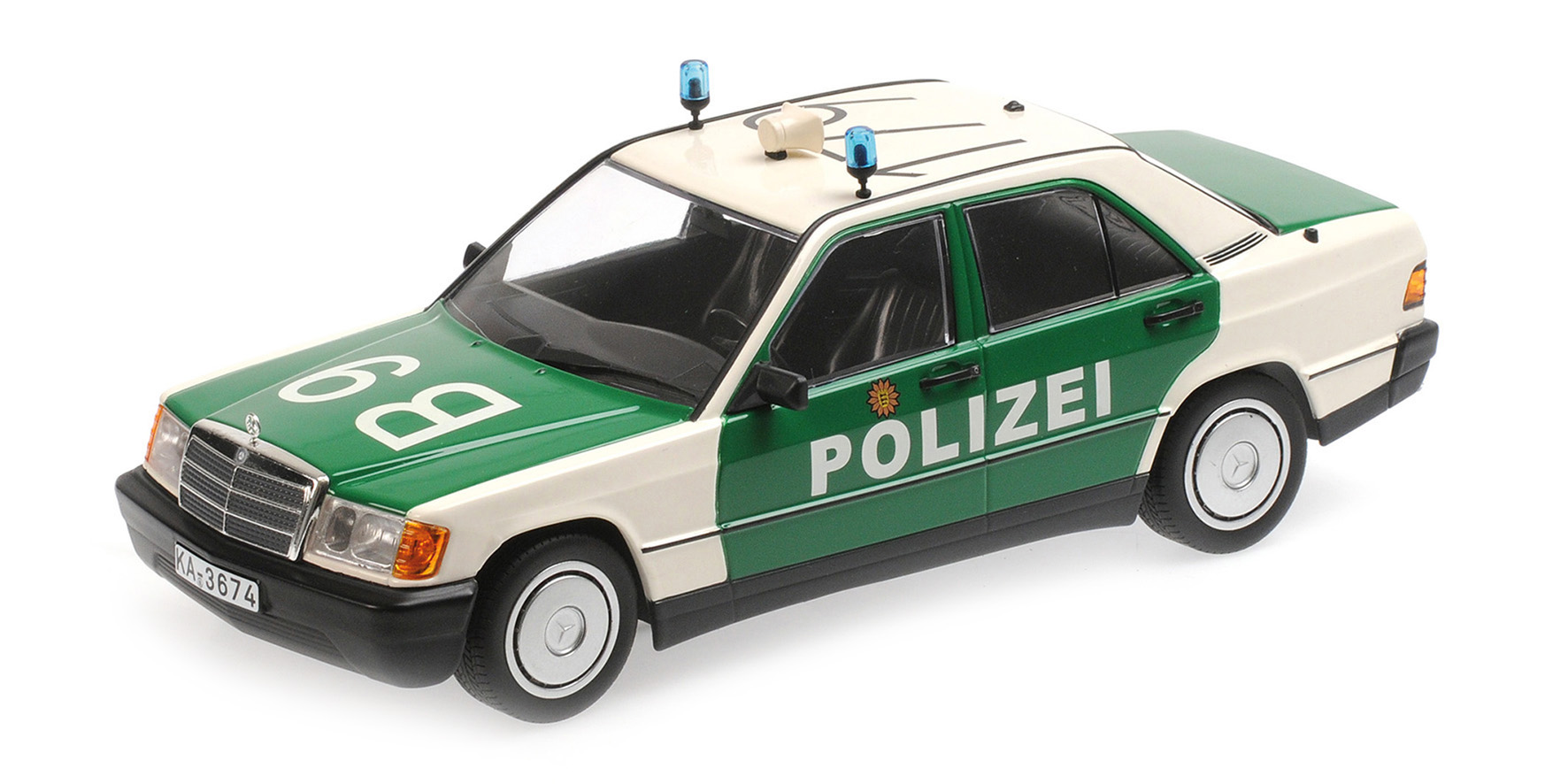 Mercedes-Benz 190E (W201) 1982 Polizei Germany