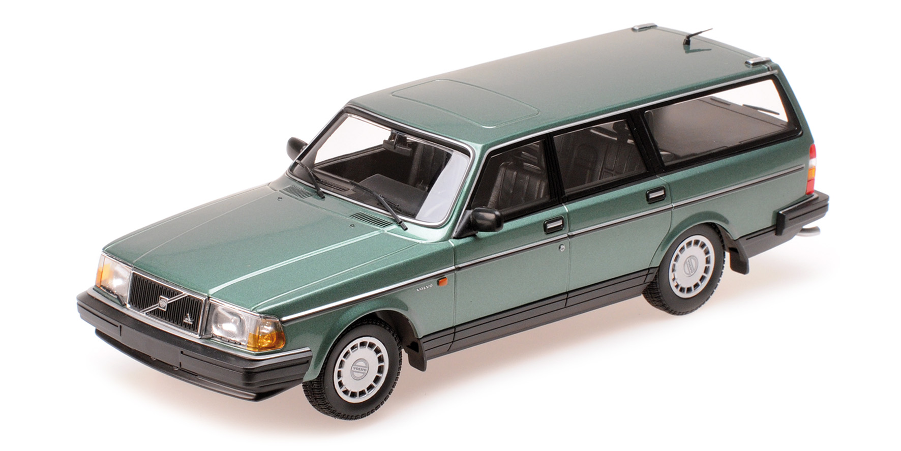 Volvo 240 GL Break 1986 Groen