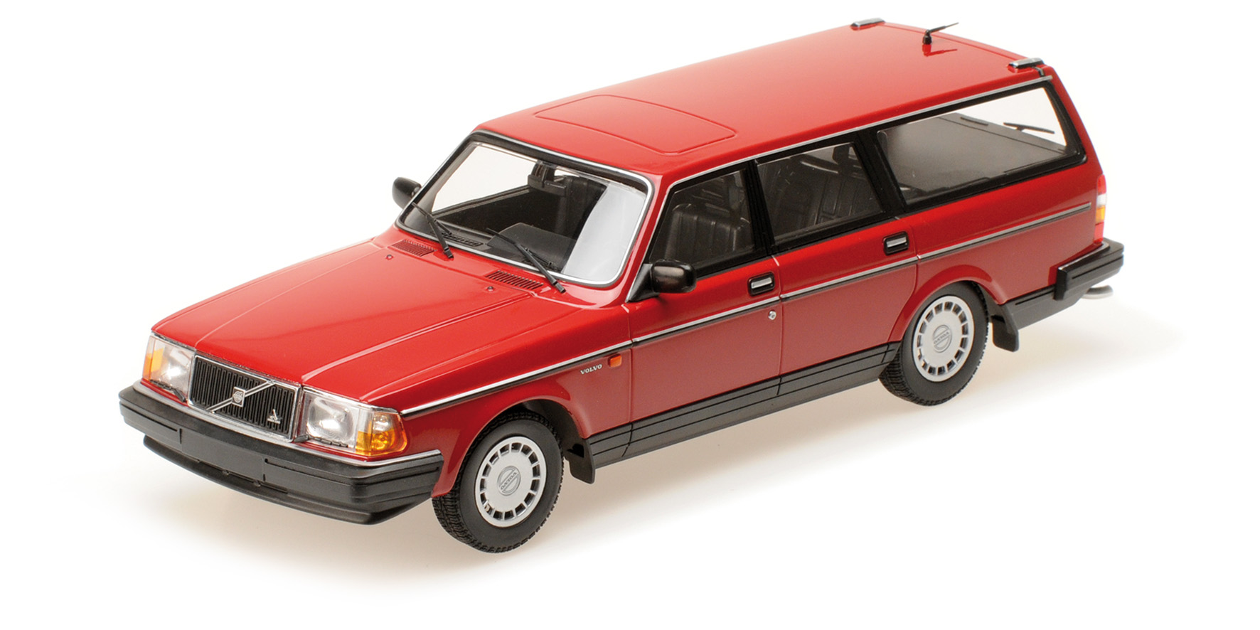 Volvo 240 GL Break 1986 Rood