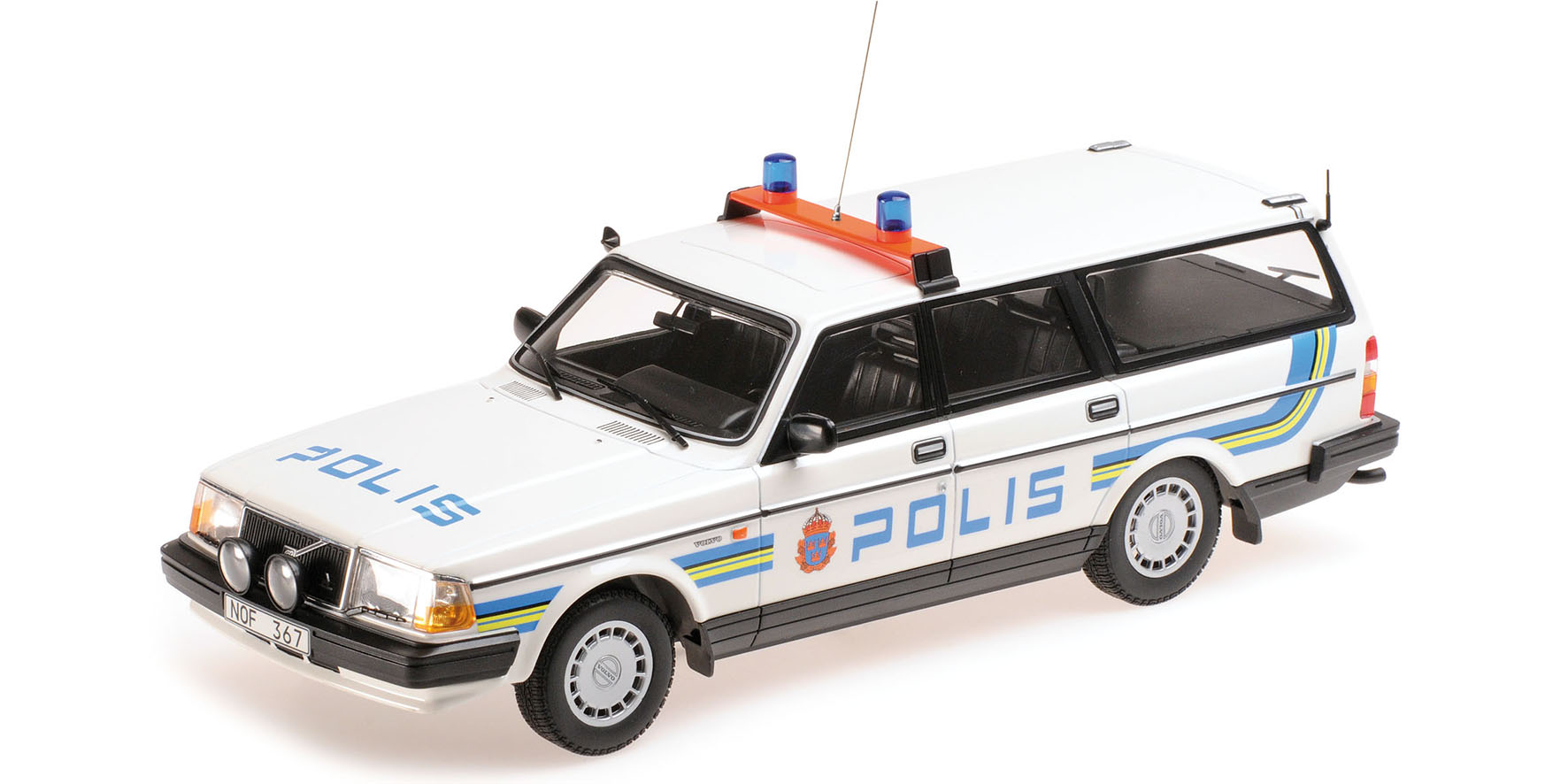Volvo 240 GL Break 1986 Polis Sweden