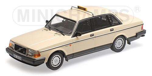 Volvo 240 GL 1986 Taxi Germany