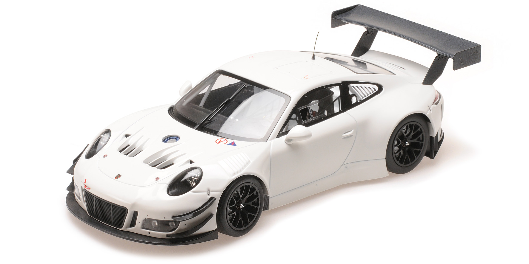 Porsche 911 GT3R Plainbody Version Wit