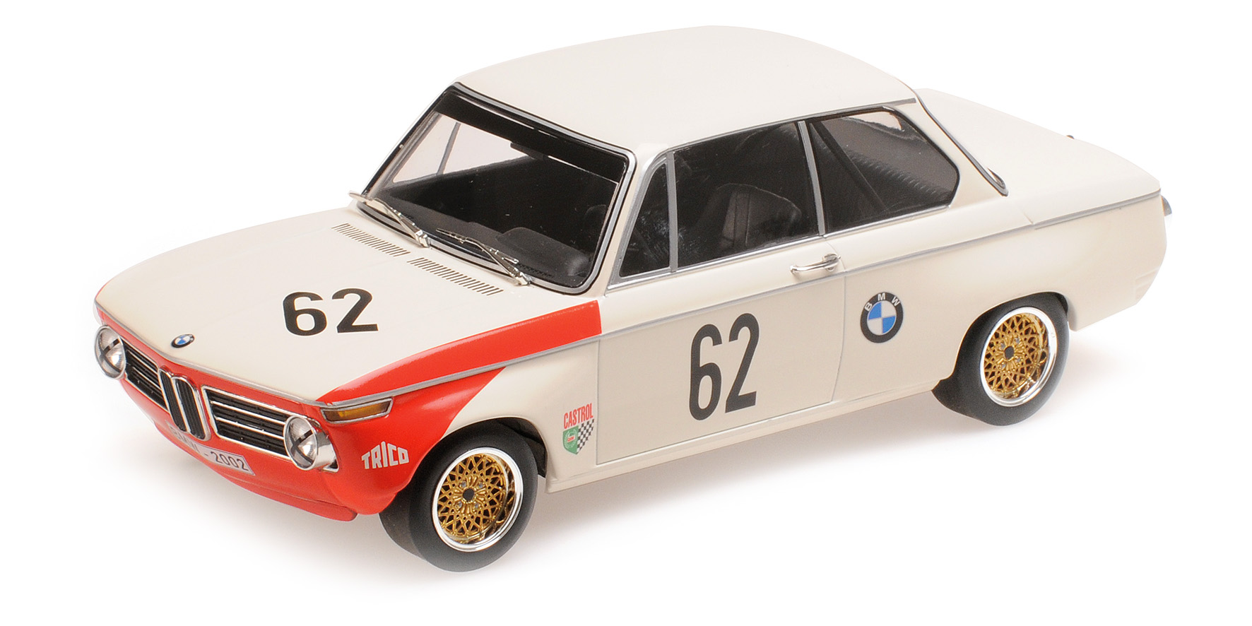 BMW 2002ti Brands Hatch 1969 Hahne/Quester