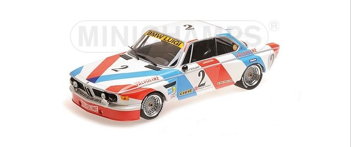 BMW 3.0 CSL Luigi Racing Winner 24h Spa 1975 De Fierlant/Xhenceval