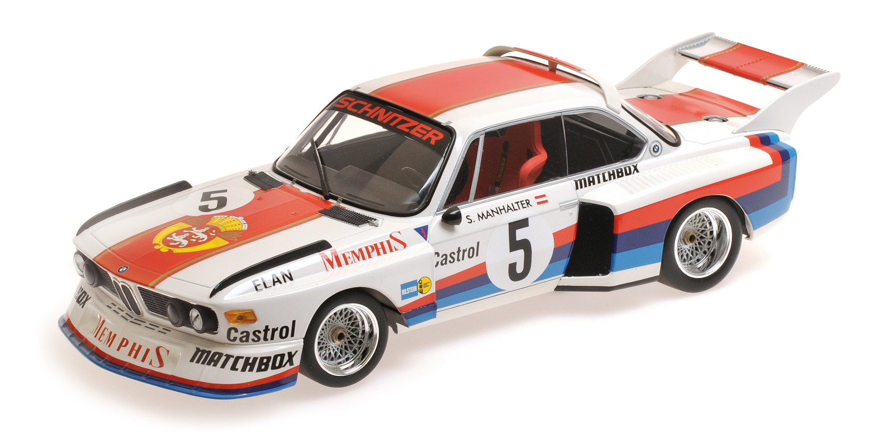 BMW 3.5 CSL Winner Havirov 1977 S. Manhalter