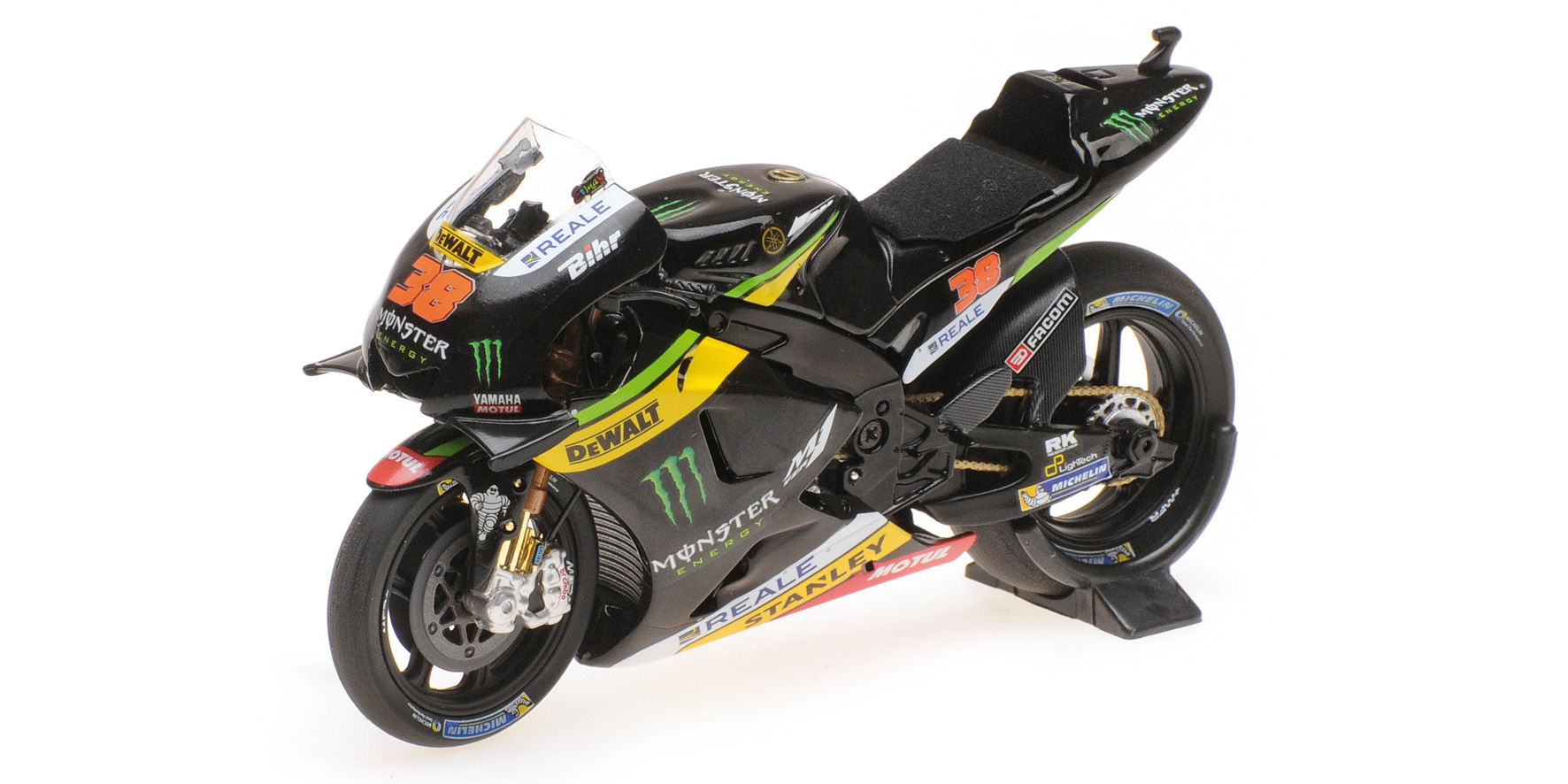 Yamaha YZR-M1 Monster Yamaha Tech3 MotoGP 2016 B. Smith