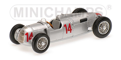 Auto Union Type C Hungarian GP 1936 A. Varzi