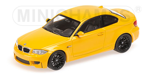 BMW 1M Coupe 2011 Geel Metallic