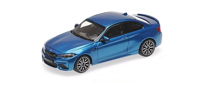 BMW M2 Competition 2019 Blauw Metallic