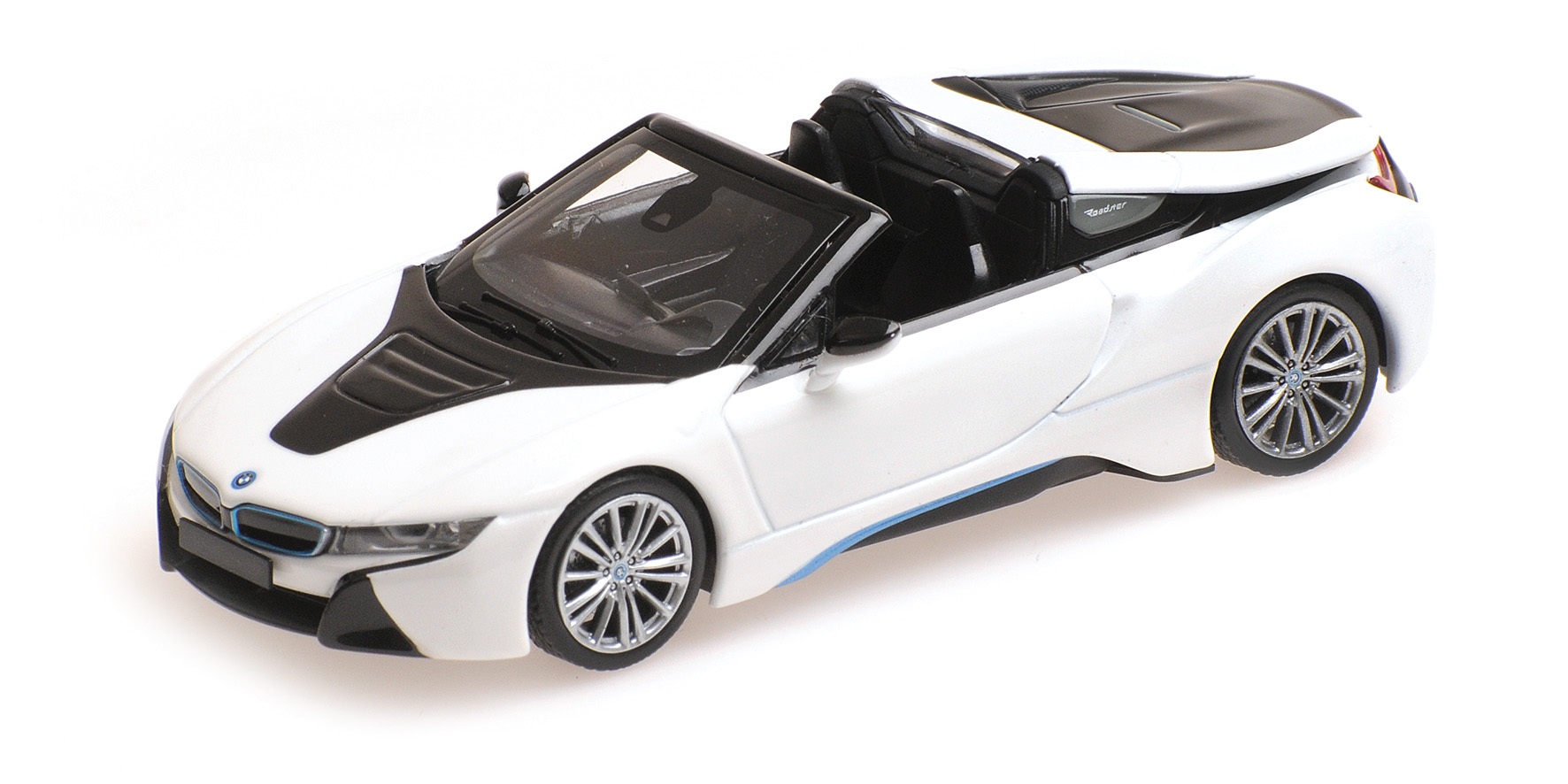 BMW i8 Roadster 2017 Wit