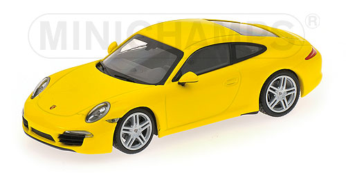 Porsche 911 (991) Carrera 2012 Yellow
