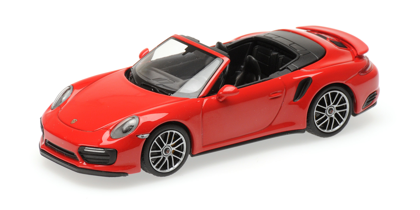 Porsche 911 (991.2) Turbo S Cabriolet 2017 Rood
