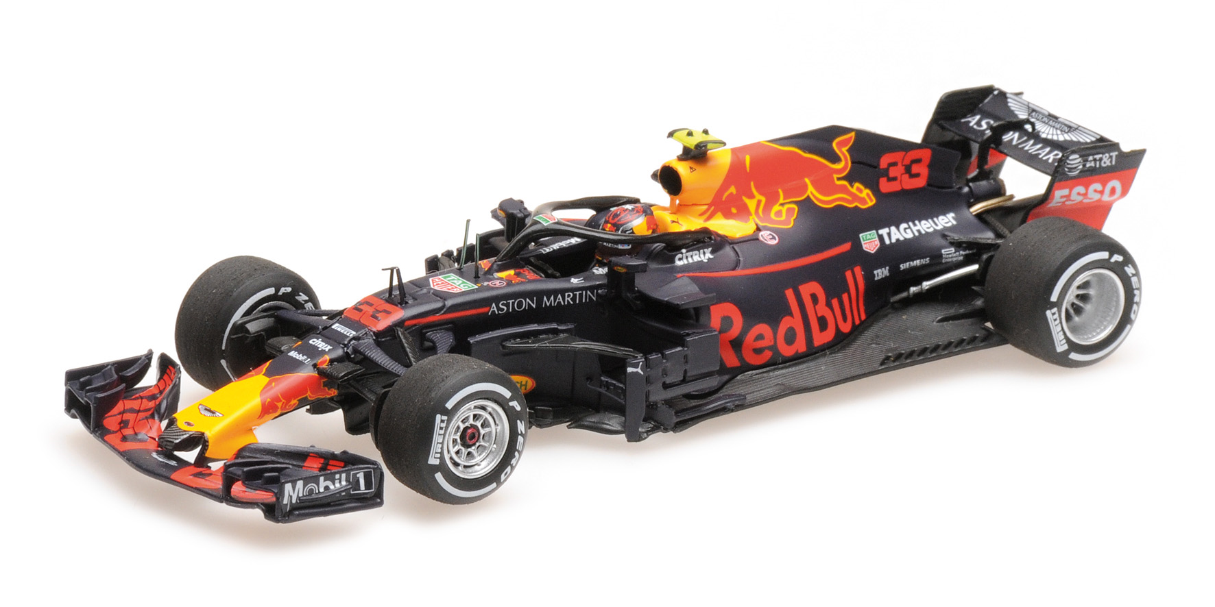 Aston Martin Red Bull Racing TAG-Heuer RB14 2018 M. Verstappen