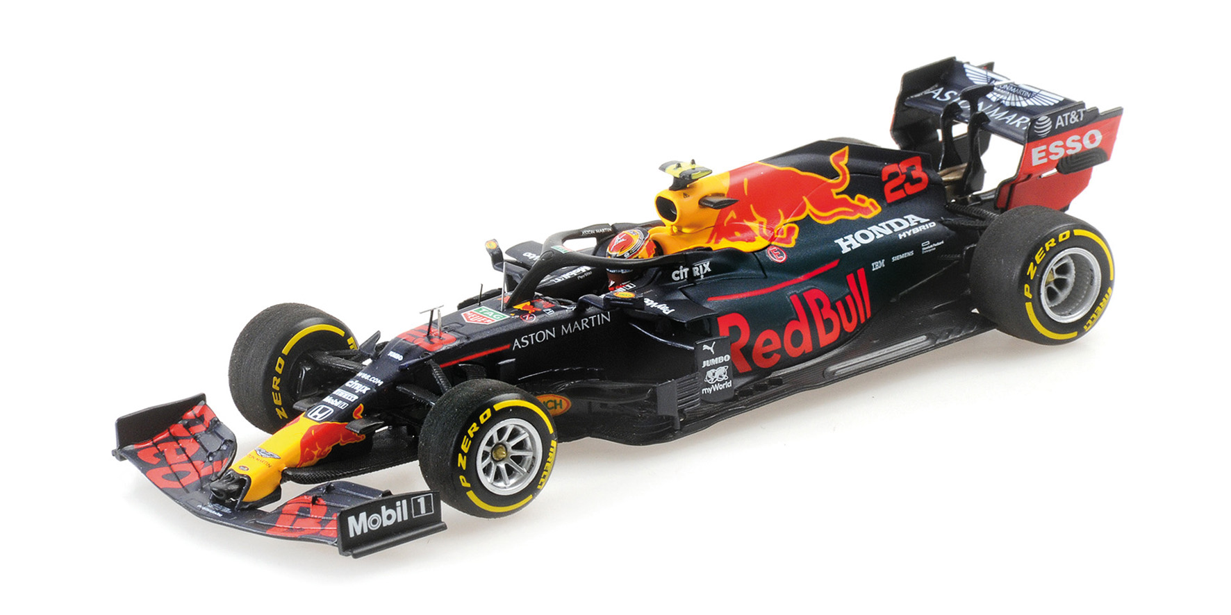 Aston Martin Red Bull Racing RB16 4th Place Styrian GP 2020 A. Albon