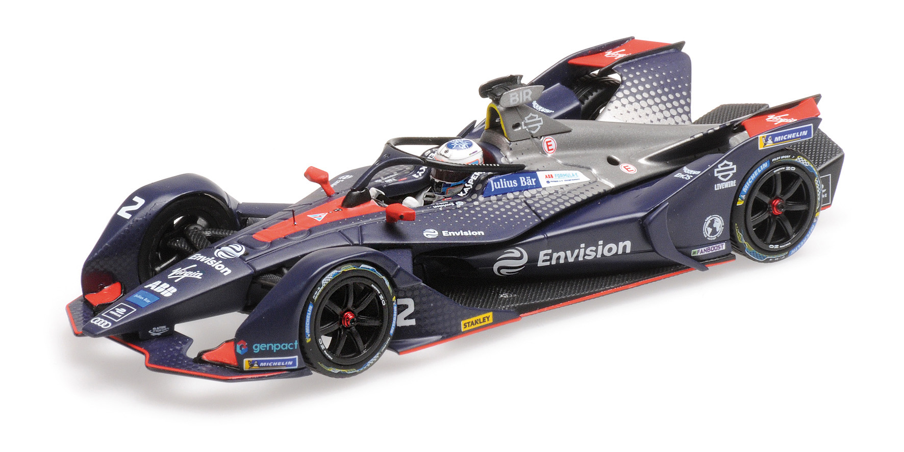 Formula E Season 5 Envision Virgin Racing 2018 S. Bird
