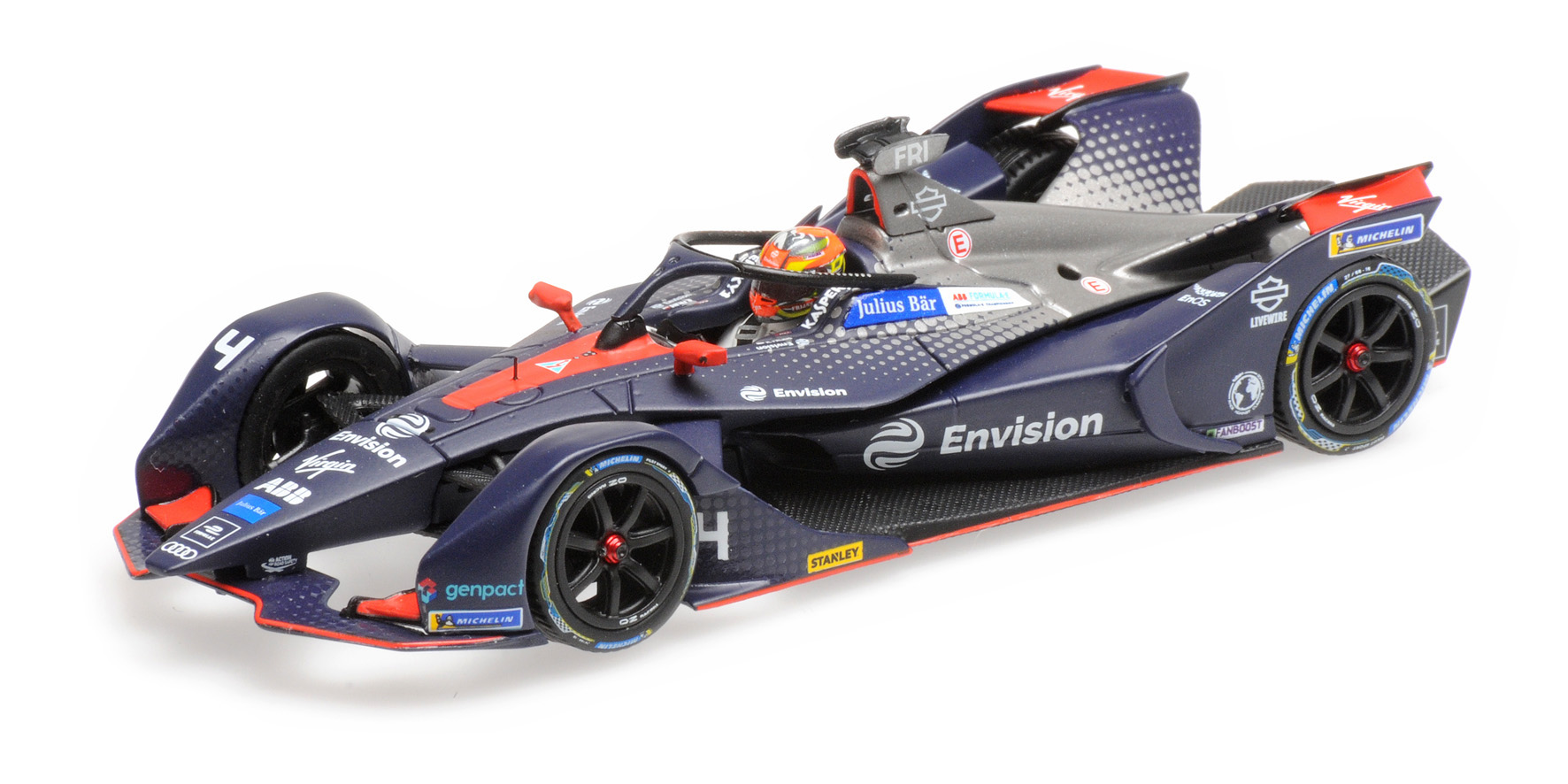 Formula E Season 5 Envision Virgin Racing 2018 R. Frijns