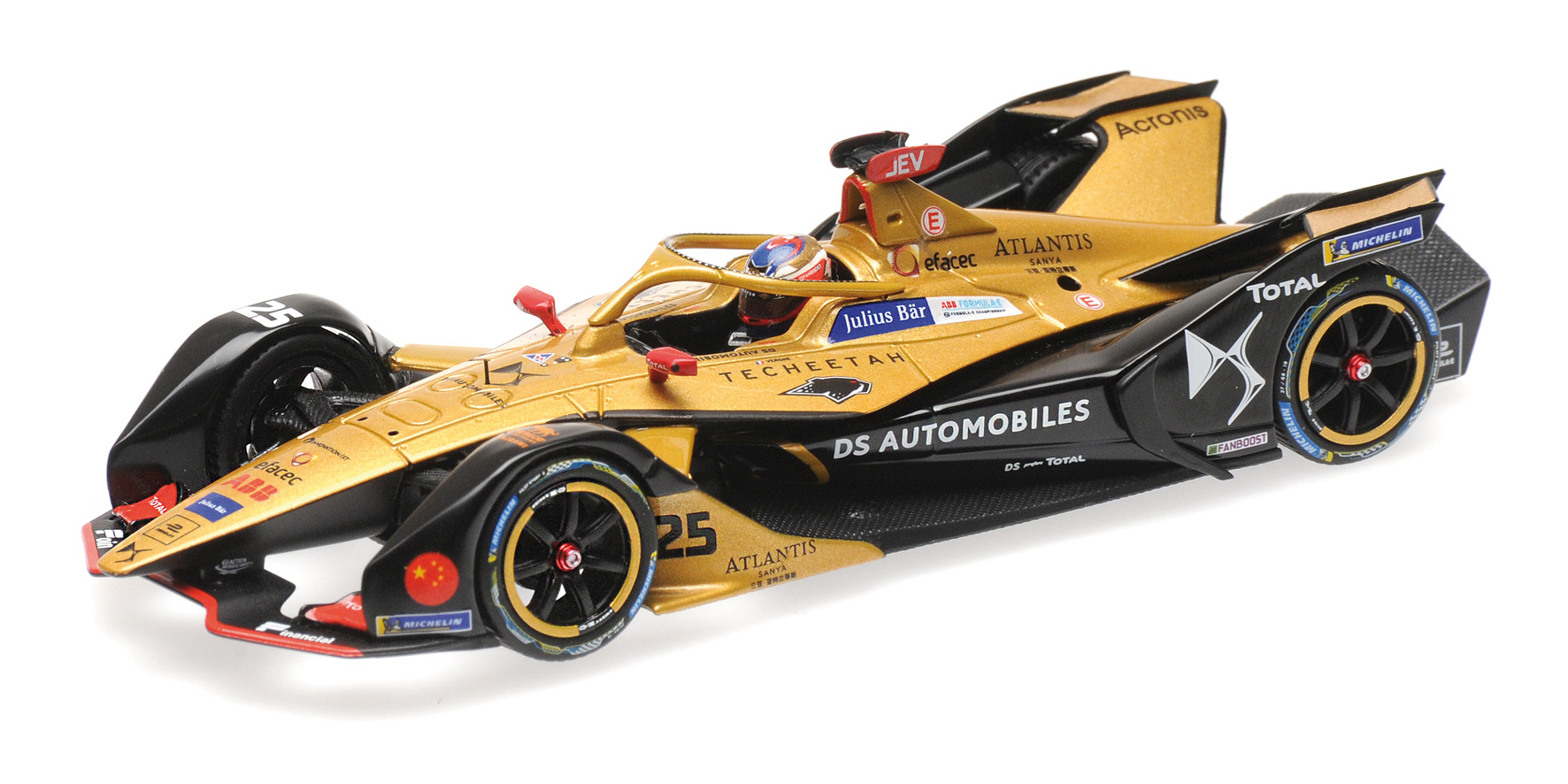 Formula E Season 5 DS Techeetah Formula E Team 2018 J.E. Vergne
