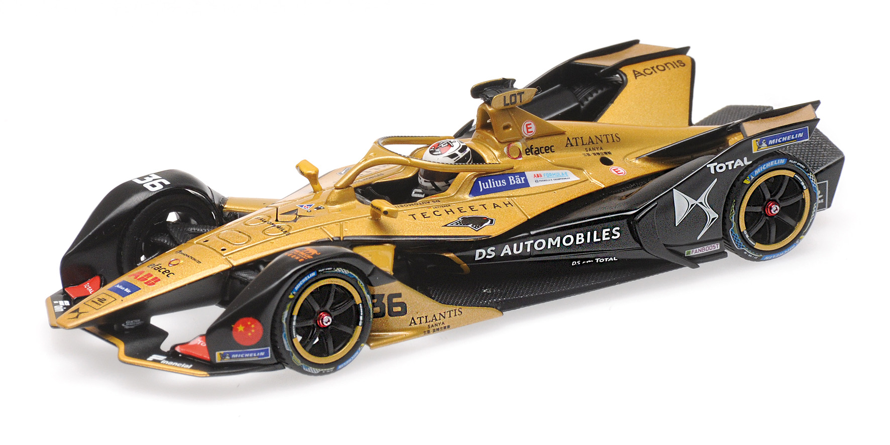Formula E Season 5 DS Techeetah Formula E Team 2018 A. Lotterer