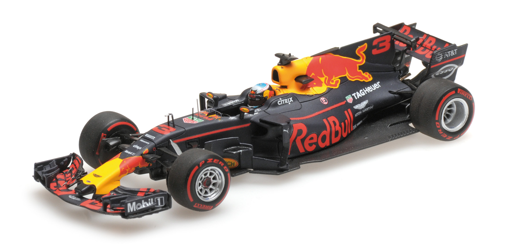 Red Bull RB13 Winner GP Azebaijan 2017 D. Ricciardo