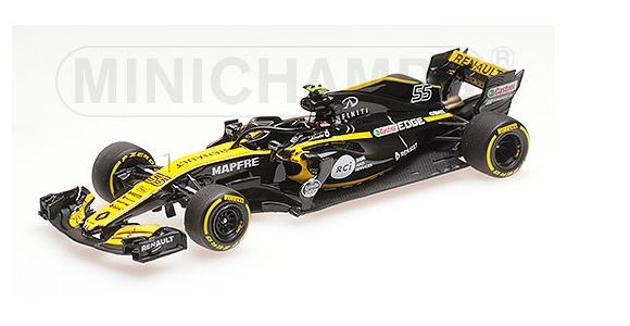 Renault Sport F1 Team Showcar 2018 C. Sainz Jr.