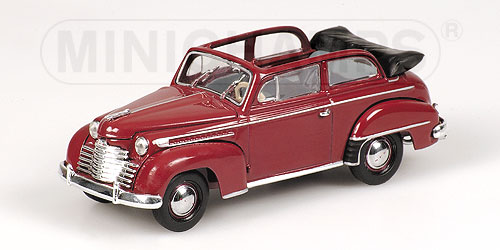 Opel Olympia Cabriolet 1951 Red