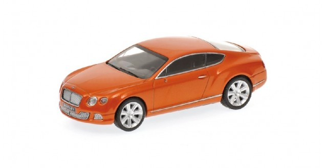 Bentley Continental GT V8 2011 Oranje Metallic