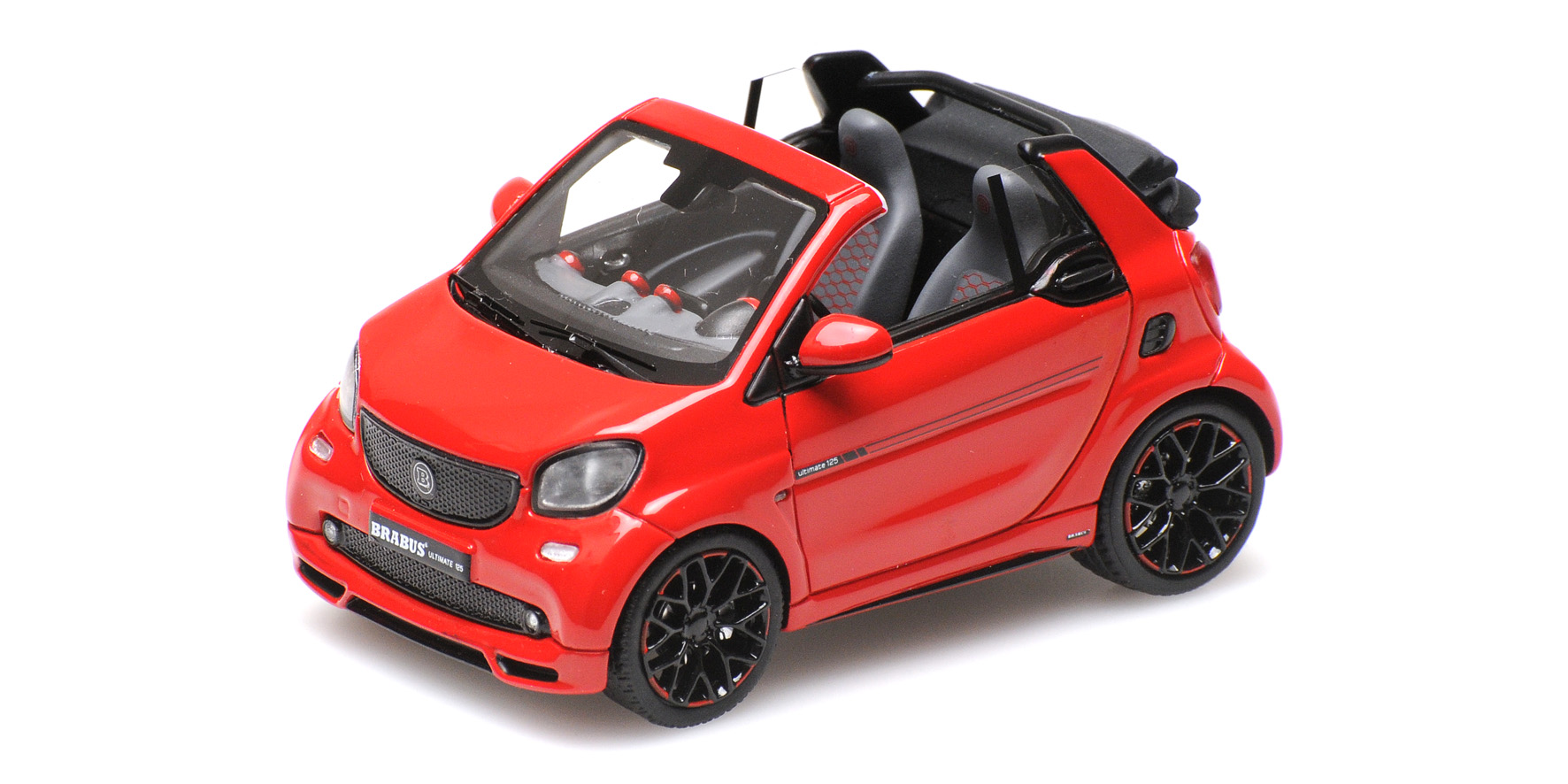 Brabus Ultimate 125 Cabriolet Rood