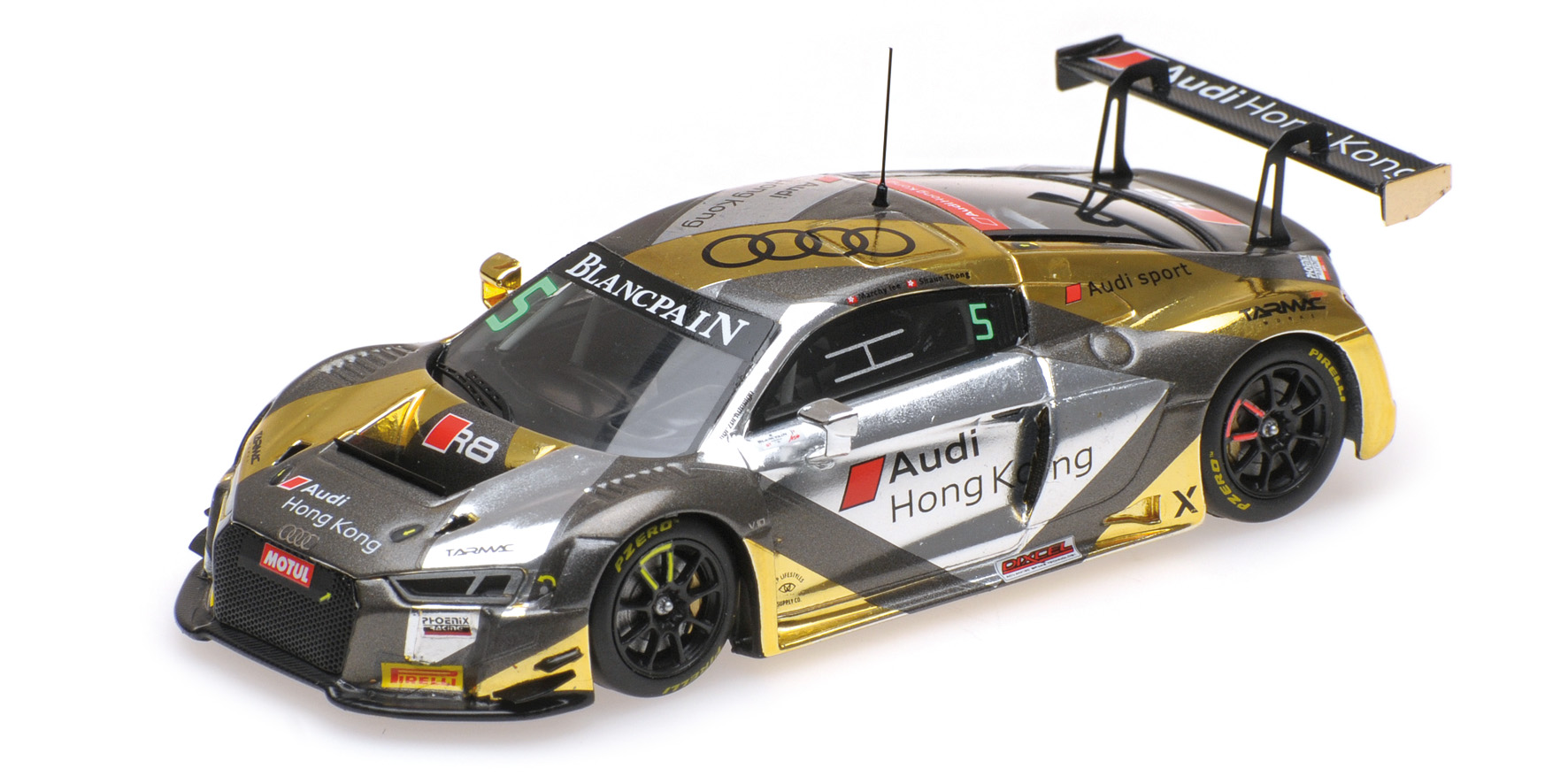 Audi R8 LMS GT series Asia 2017 Lee/Thong