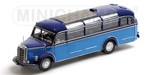 Mercedes-Benz O3500 Bus 1950 Light Blue/Dark Blue