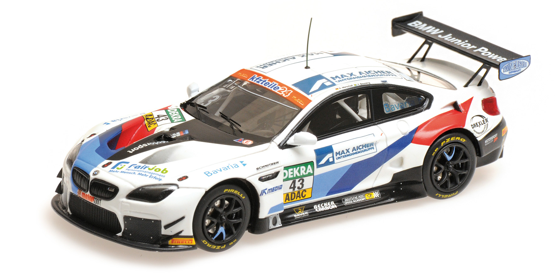 BMW M6 GT3 ADAC GT Masters 2018 Bouveng/Marshall