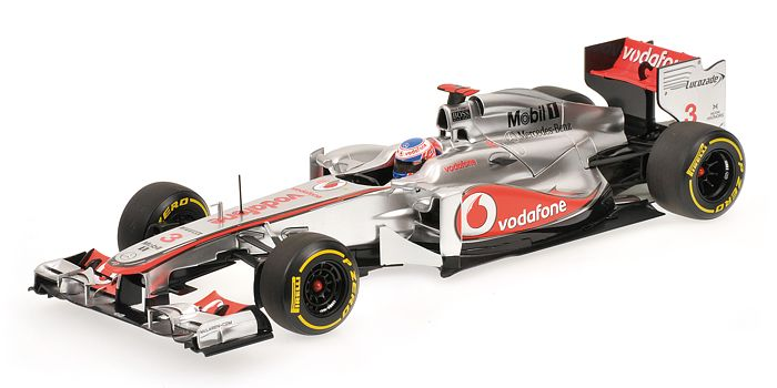 McLaren Mercedes Showcar 2012 J. Button