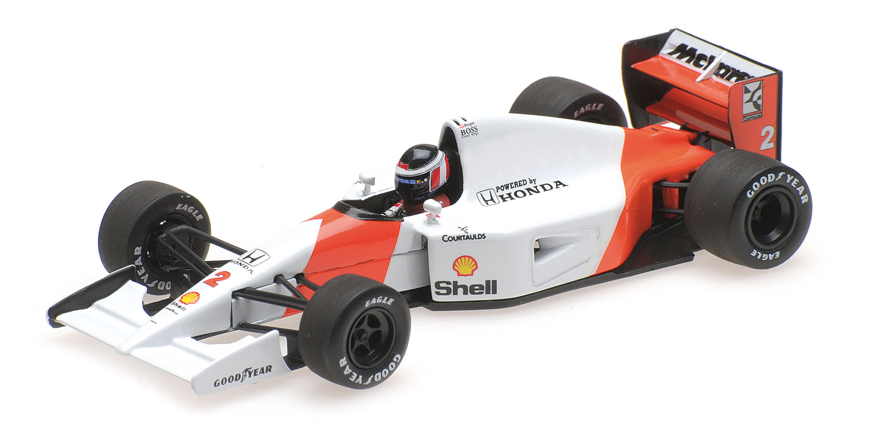 McLaren Honda MP4/7 1992 G. Berger