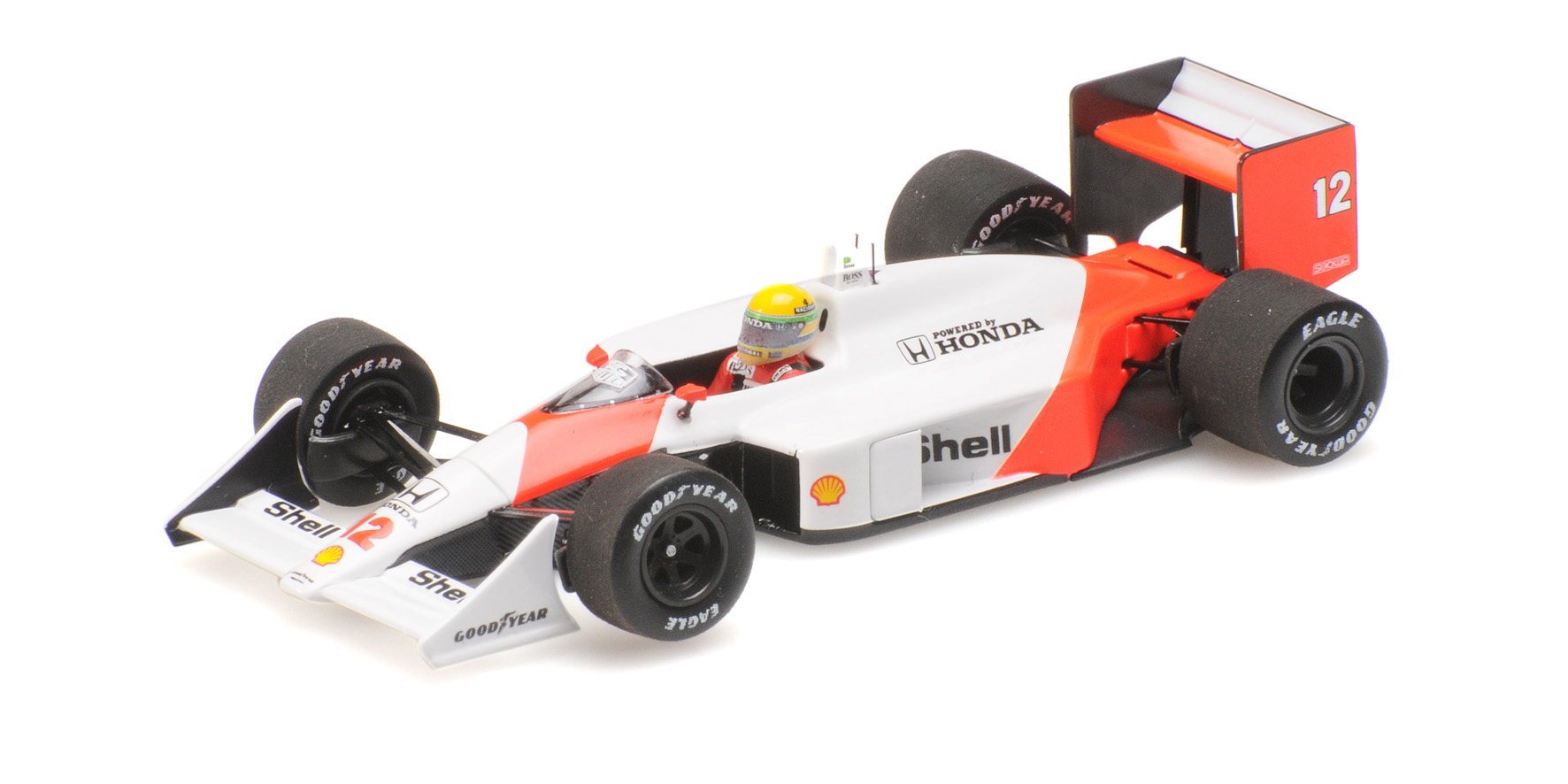 McLaren Honda MP4/4 Winner GP Japan 1988 A. Senna